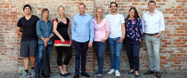 Team-Foto der Singlecommunity